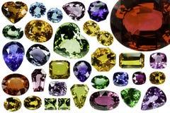 明亮的宝石 免版税库存照片