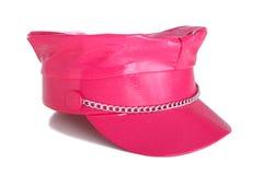 明亮的帽子粉红色 免版税库存图片