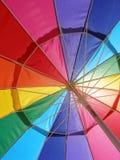 明亮的彩虹 图库摄影
