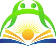 明亮的教育徽标 免版税库存图片