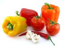 明亮的新鲜蔬菜 免版税图库摄影