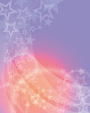 明亮的星形背景 免版税图库摄影