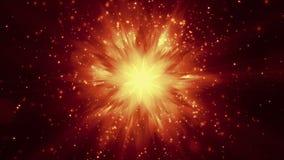 明亮的星//1080p圣诞节和星录影背景使成环 皇族释放例证