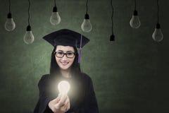 明亮的未来的教育 免版税库存照片
