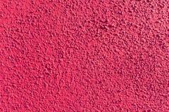明亮的桃红色膏药墙壁 库存照片