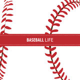 明亮的棒球背景 皇族释放例证