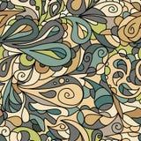 明亮的棕色华丽样式 免版税库存图片