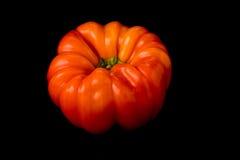 明亮的橙色胡椒 免版税库存照片