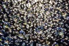 明亮的水晶轻反射 免版税库存图片