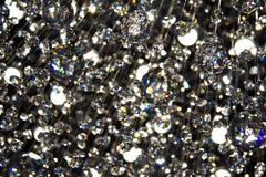 明亮的水晶轻折射 免版税库存图片