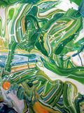 明亮的油漆生动的网眼图案  库存图片