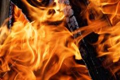 明亮的火背景 图库摄影