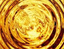 明亮的爆炸闪光转动  火爆炸 免版税库存照片