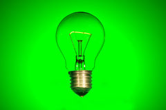 明亮的电灯泡 免版税库存图片