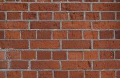 明亮的红砖老墙壁  免版税图库摄影