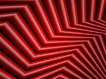 明亮的红色几何背景 免版税库存图片