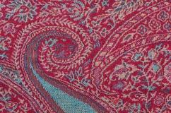 明亮的织品纹理用黄瓜 库存图片