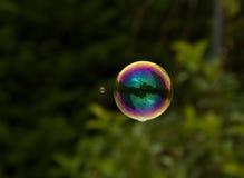 明亮的肥皂泡 免版税库存照片