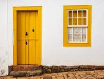 明亮的色的门面 免版税图库摄影