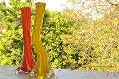 明亮的花瓶 免版税库存图片