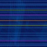 明亮的萤光水平的条纹的反复几何样式 皇族释放例证