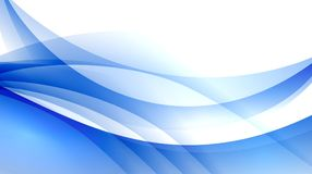 明亮的蓝色抽象背景光亮的光 库存图片