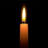 明亮的蜡烛 库存图片