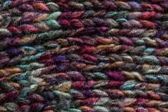 明亮的螺纹被编织的织品  背景,纹理 库存图片
