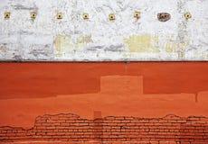 明亮的被佩带的企业老侧壁 免版税库存照片