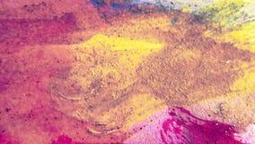 明亮的被设色的艺术 Highlighted构造了纸 墨迹冲程 背景脏织地不很细 纸土气 厚实的油漆飞溅艺术 库存例证