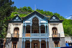 明亮的议院在博尔若米,乔治亚 免版税库存图片