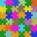 明亮的颜色困惑纹理 免版税库存图片