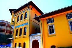 明亮的颜色大厦 免版税库存图片