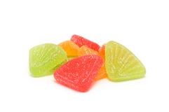 明亮的颜色甜点 免版税库存图片