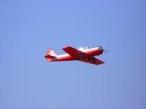 明亮的飞机 免版税图库摄影