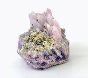明亮的紫晶 库存图片