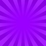 明亮的紫罗兰发出光线背景 向量例证