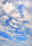 明亮的cloudscape 免版税库存照片
