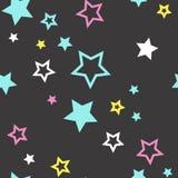 明亮的starfall 免版税库存图片