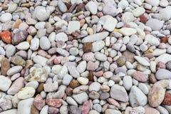 明亮许多石头背景 免版税库存照片