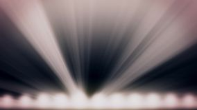 明亮阶段光闪动 与光的自由阶段 阶段照明设备背景 音乐会光 阶段聚光灯机智 向量例证
