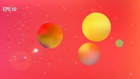 明亮Astonomic抽象空间的背景画面 皇族释放例证
