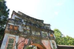 明命帝坟茔,越南 免版税库存图片