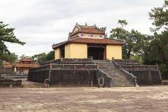 明命帝越南国王,坟茔颜色的 库存图片