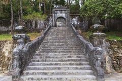 明命帝越南国王,坟茔颜色的 库存照片