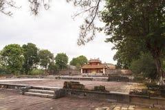 明命帝越南国王,坟茔颜色的 免版税库存照片