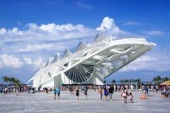 明天博物馆在里约热内卢,巴西 免版税图库摄影