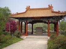 明孝陵废墟在南京中国 库存图片