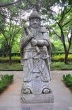 明孝陵,南京,中国 免版税库存图片