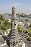 黎明寺寺庙,曼谷 免版税库存照片